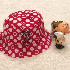 Disney Minnie Mouse Red Hat Toddler Girl